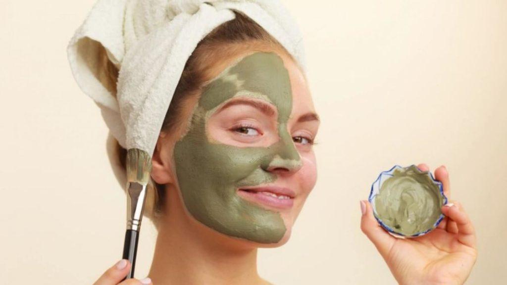 Máscara de Argila para o rosto