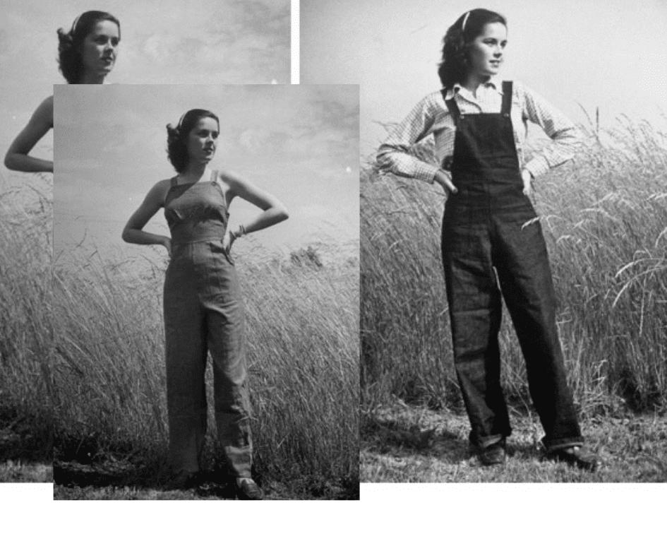 macacão feminino anos 60