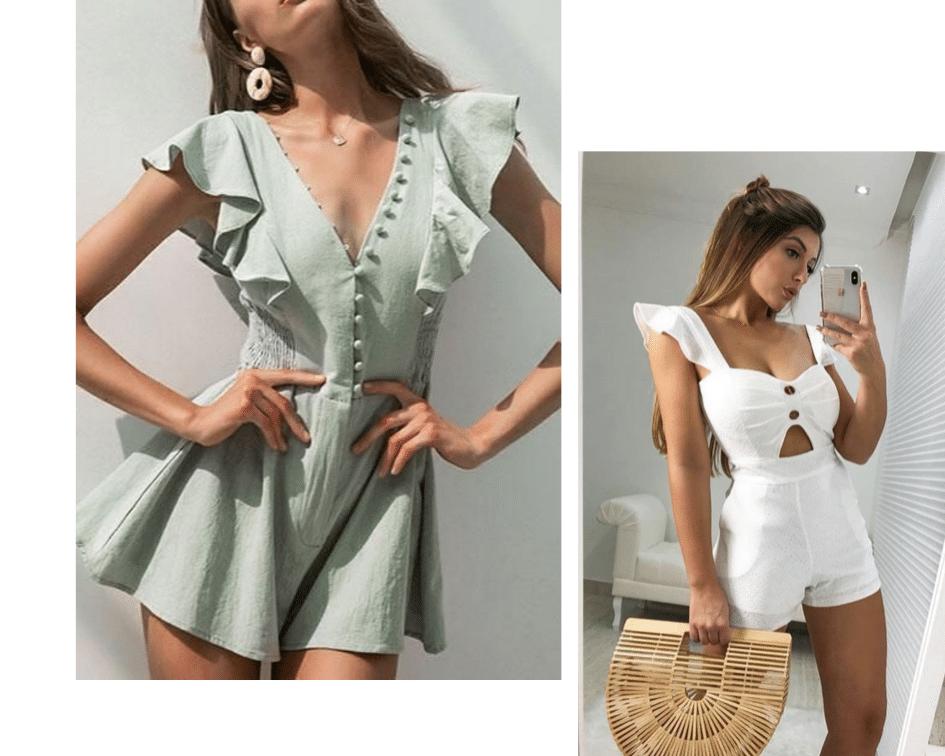roupa feminina de verão