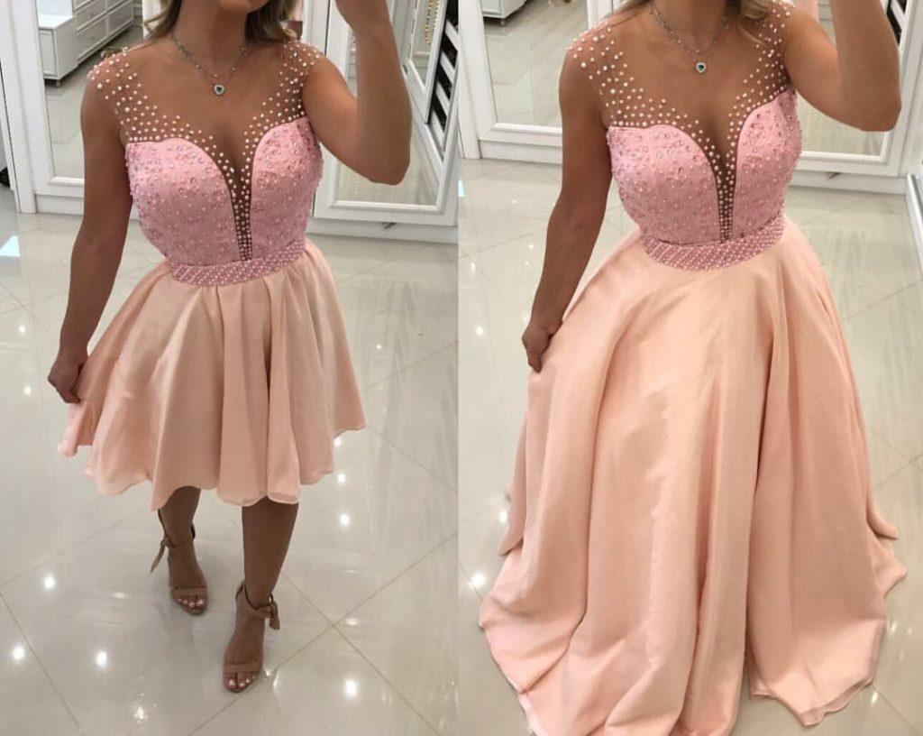 vestido 2 em 1