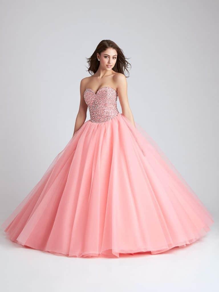 Vestido rosa 15 anos