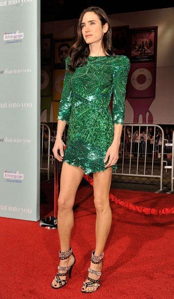 Vestido verde paetê