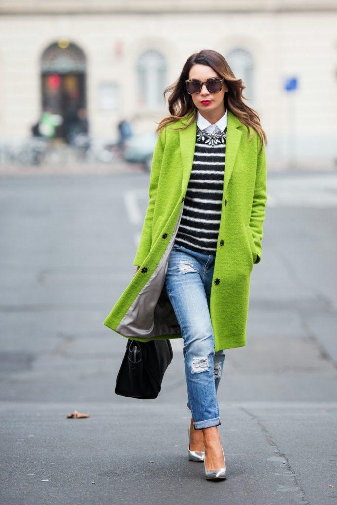 O que vestir no inverno colorido