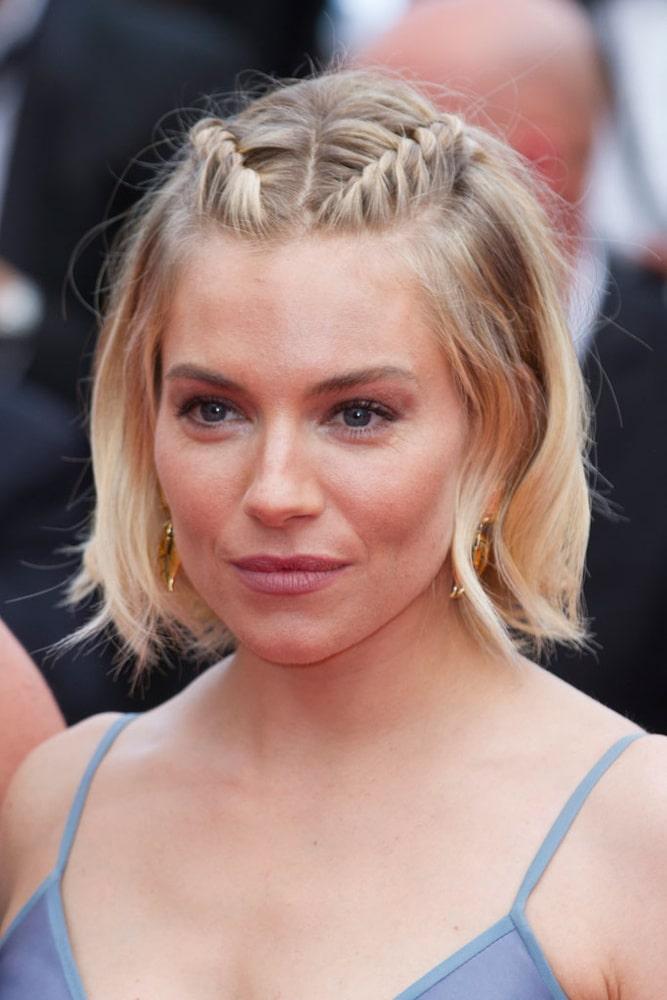 Penteados com tranças cabelo curto