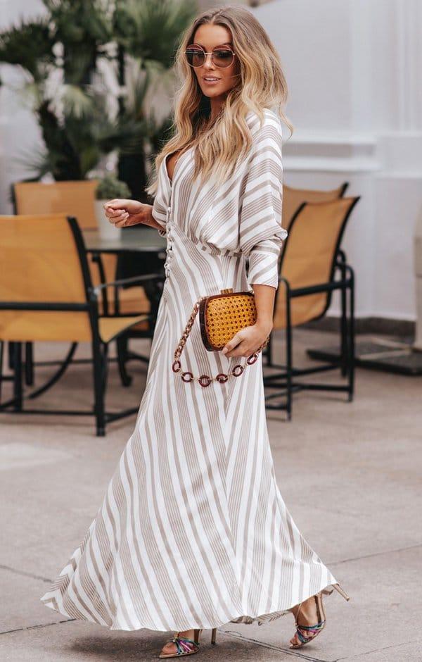 vestido longo inverno