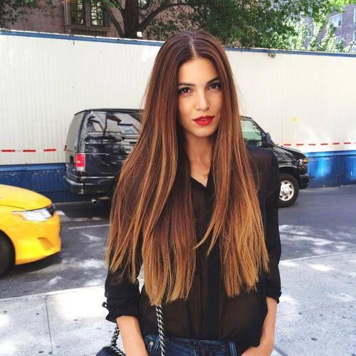 cortes para cabelo longo reto