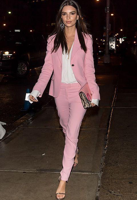 o que vestir no trabalho rosa