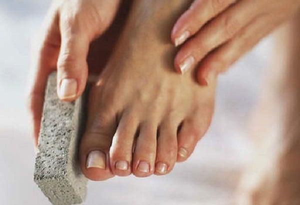 Tratamento para os pés