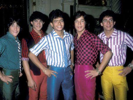 Conjunto masculino colorido