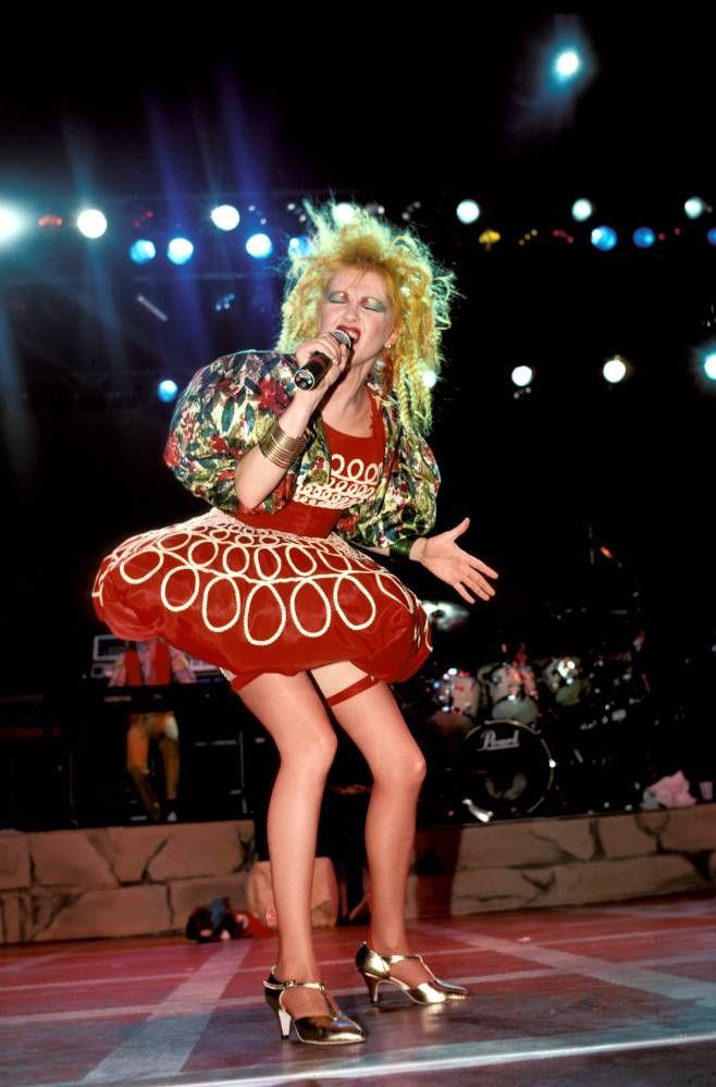 vestido balone anos 80