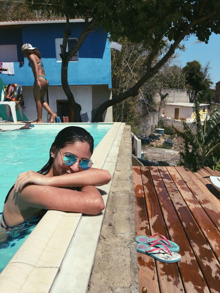 óculos de sol espelhado azul