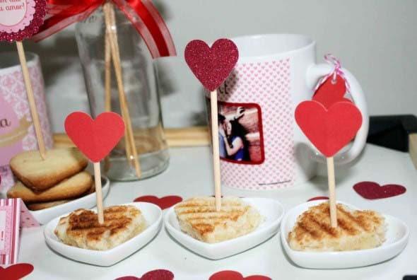surpresa para namorado café da manhã
