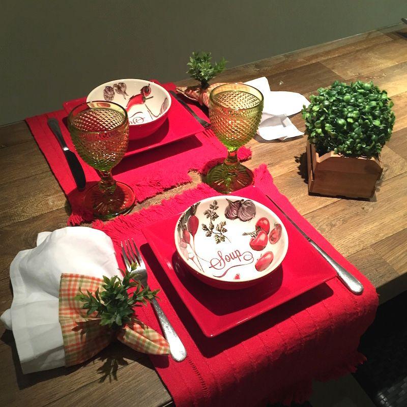 surpresa para namorado jantar