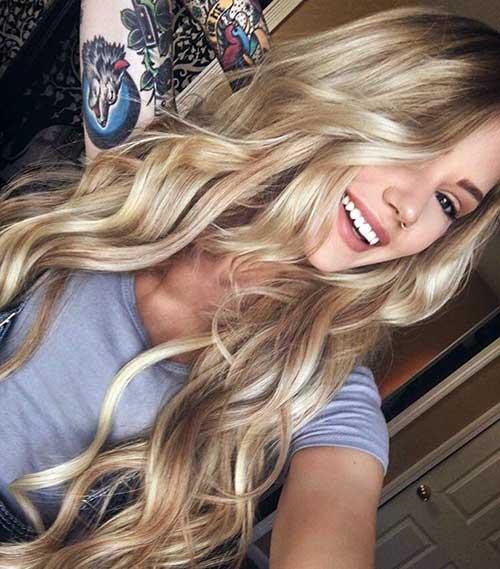 cabelo com luzes