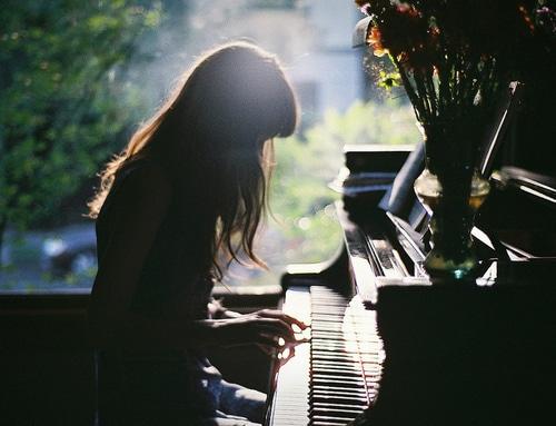 foto tumblr piano