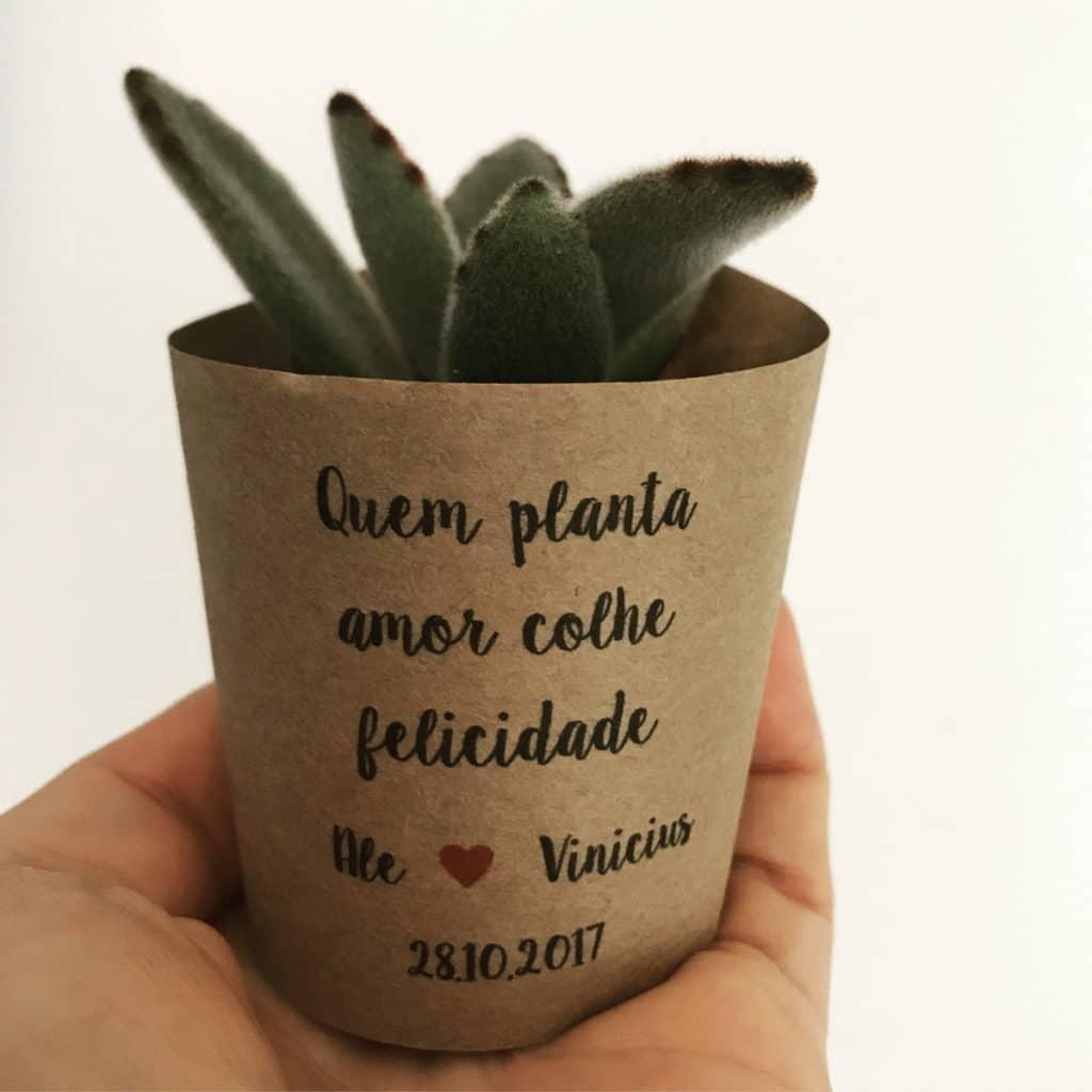 planta personalizada para o namorado