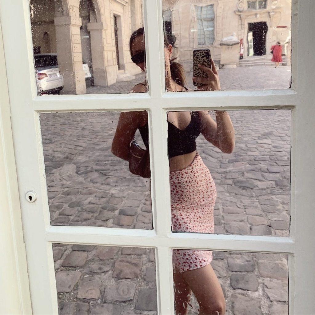 selfie no espelho