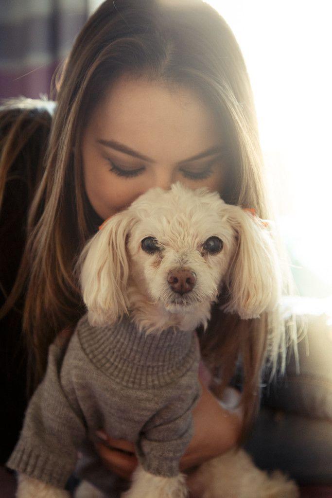 Foto tumbr cachorro branco