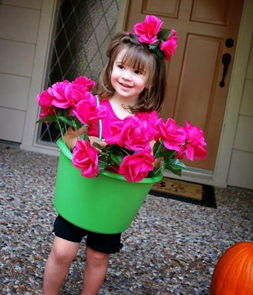 vaso de flores para carnaval infantil