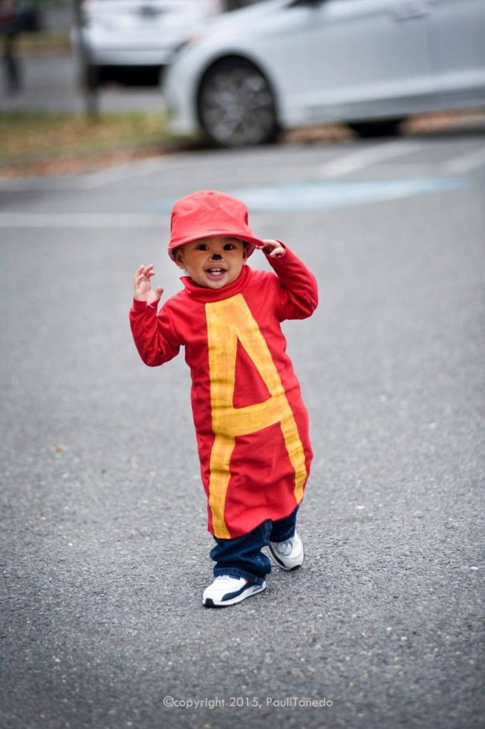 fantasia de carnaval Alvin