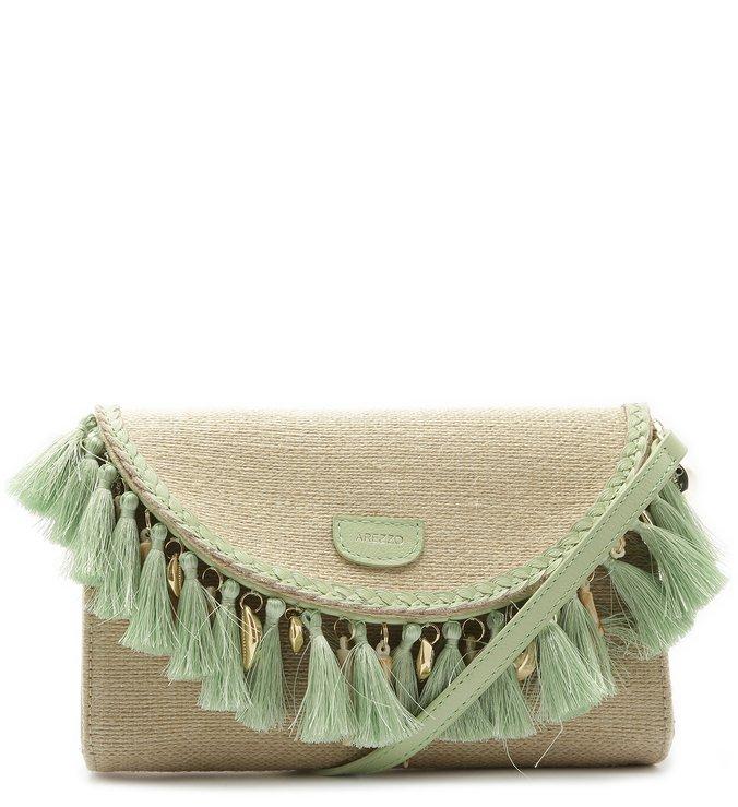 bolsa de mão franjas Arezzo