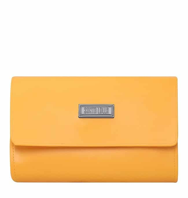 bolsa pochete laranja santa lolla
