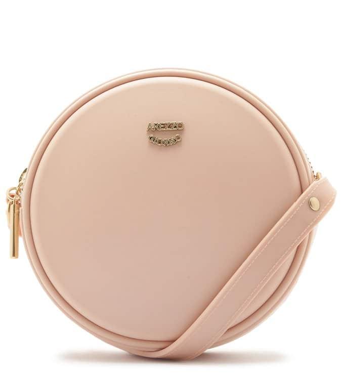 bolsa tiracolo redonda rose