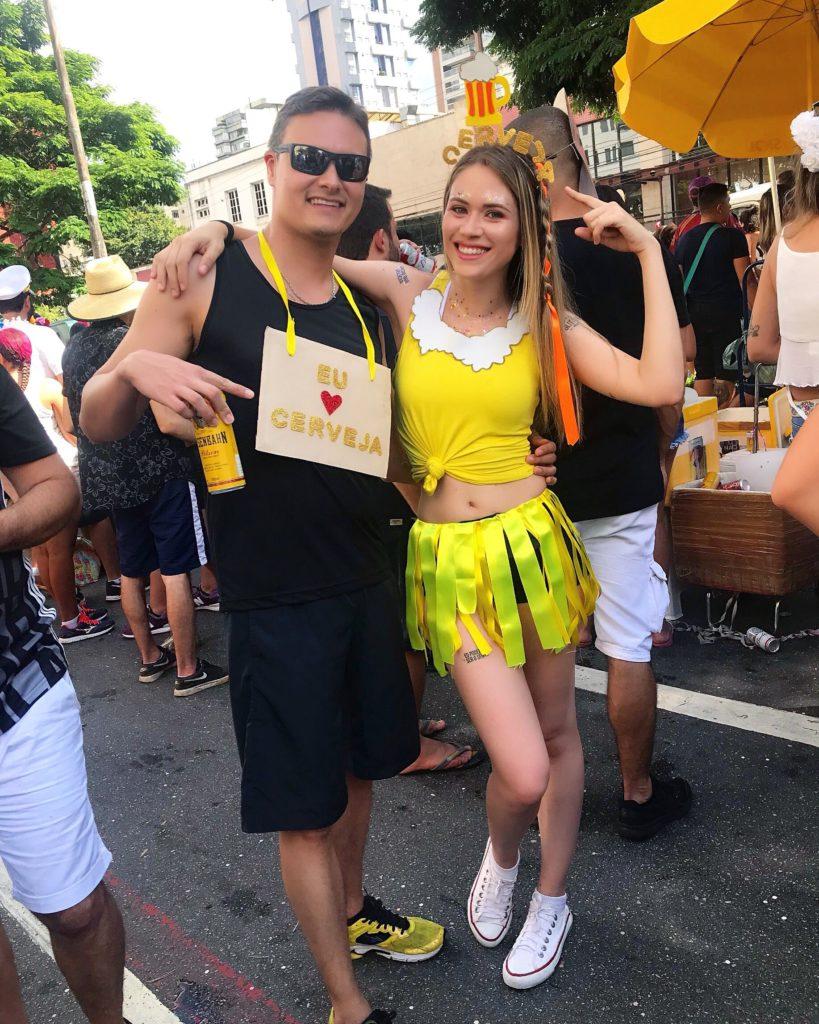 fantasia de carnaval cervejeiros