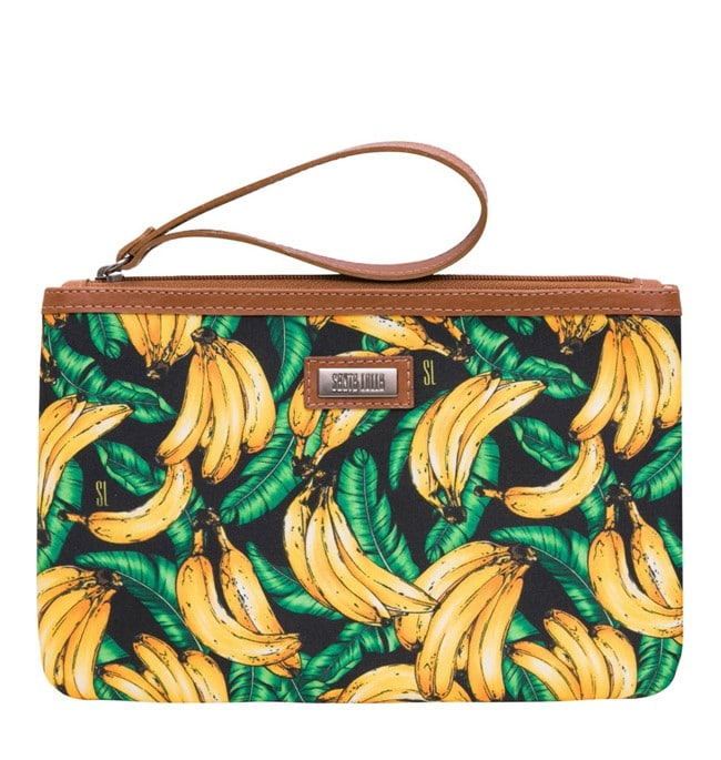 bolsa clutch bananas