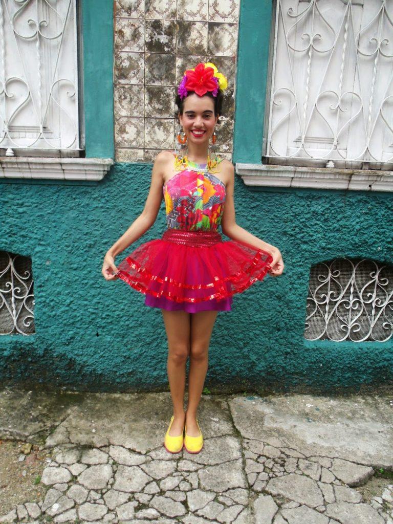 fantasia de carnaval frida kahlo