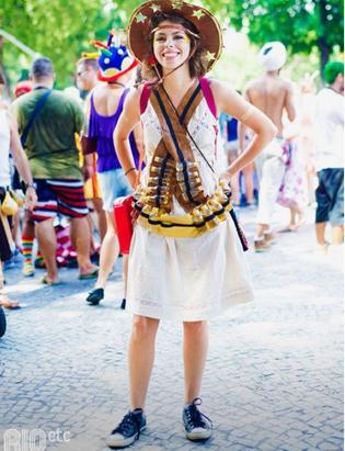 Maria Bonita no carnaval