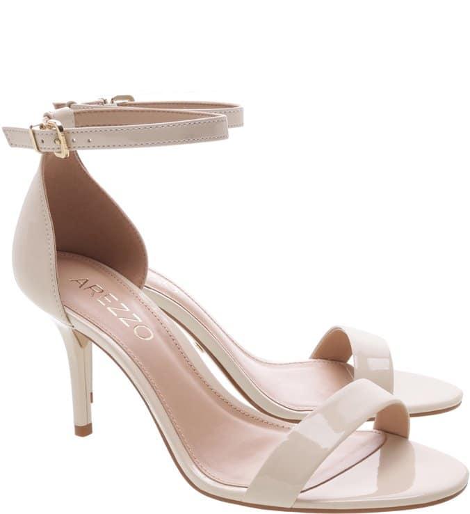 Sandália clássica branca