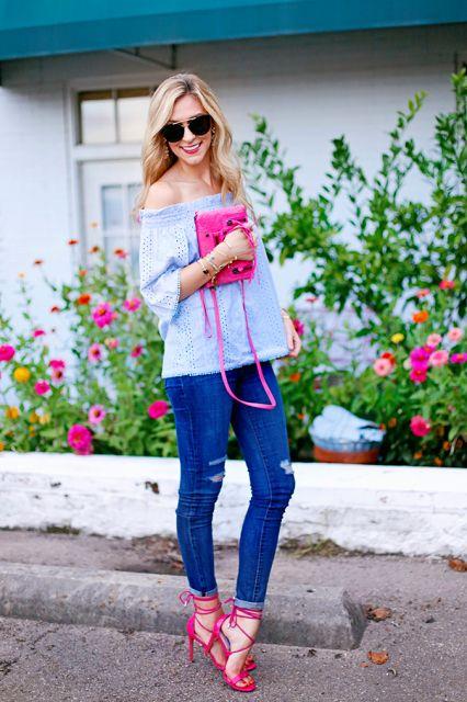 tipos de sapatos cor de rosa