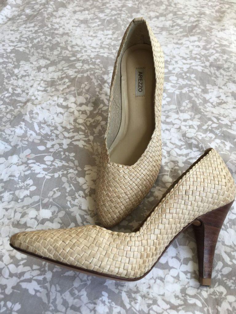 scarpin tresse sapatos femininos