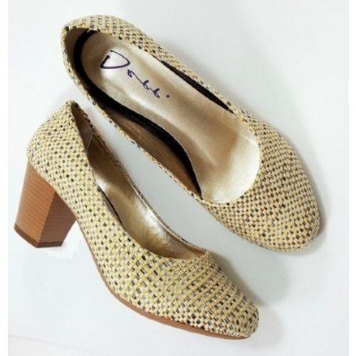 sapatos femininos de sisal