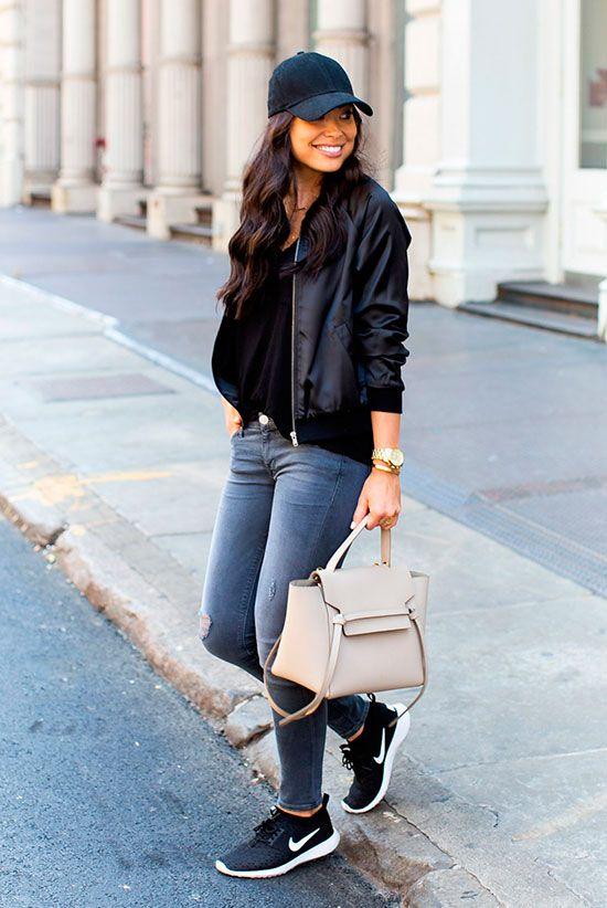 tipos de sapatos femininos com boné