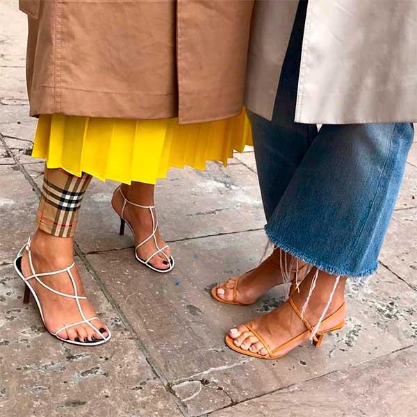 sapatos femininos sandálias de tiras