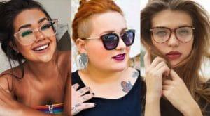 óculos para rosto redondo
