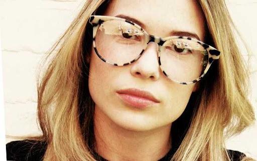 óculos para rosto redondo armação tartaruga