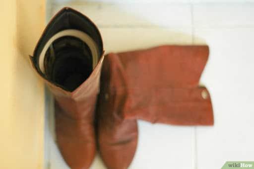 como organizar sapatos e botas
