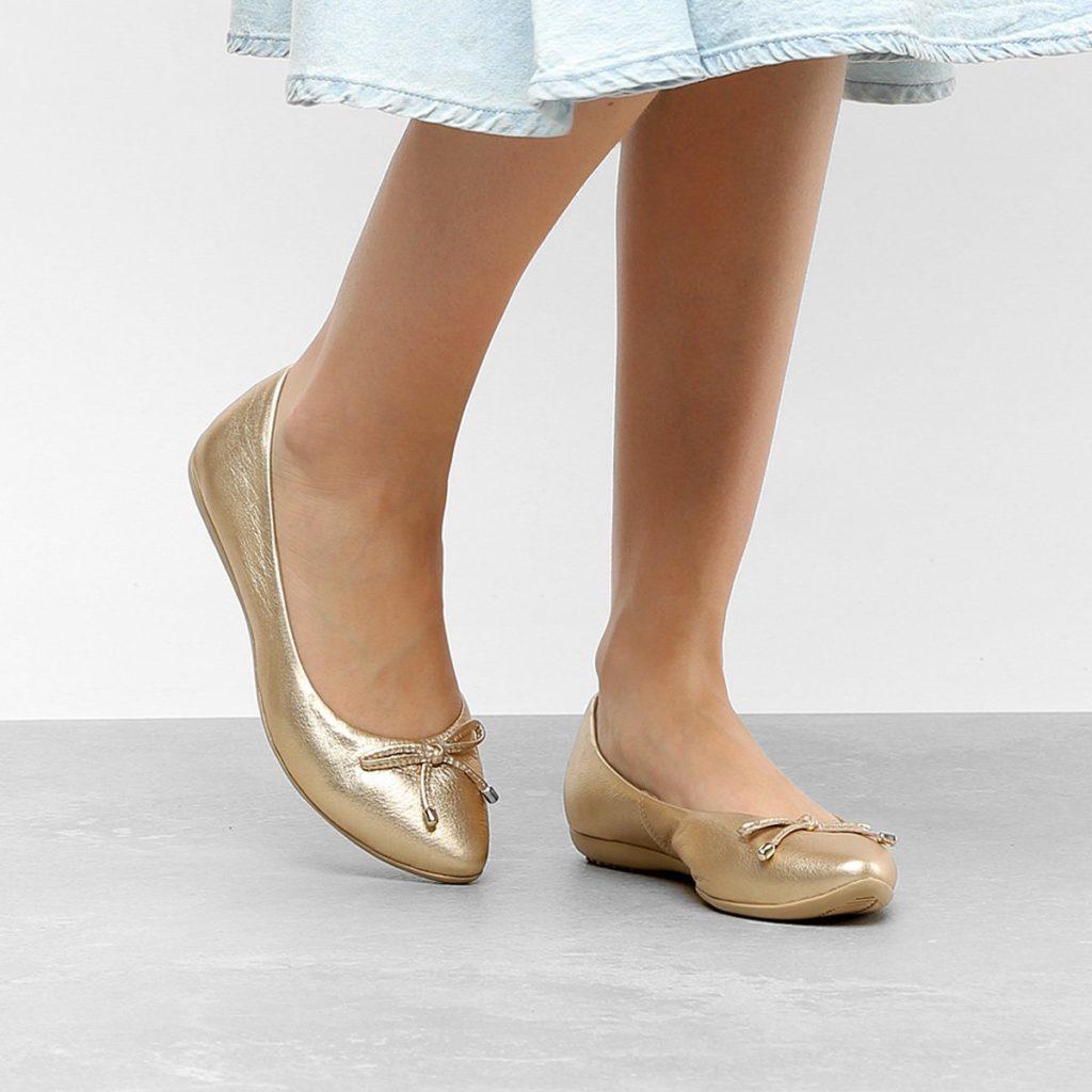 sapatilhas metalizadas