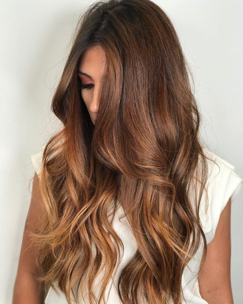 cores de cabelo castanho claro
