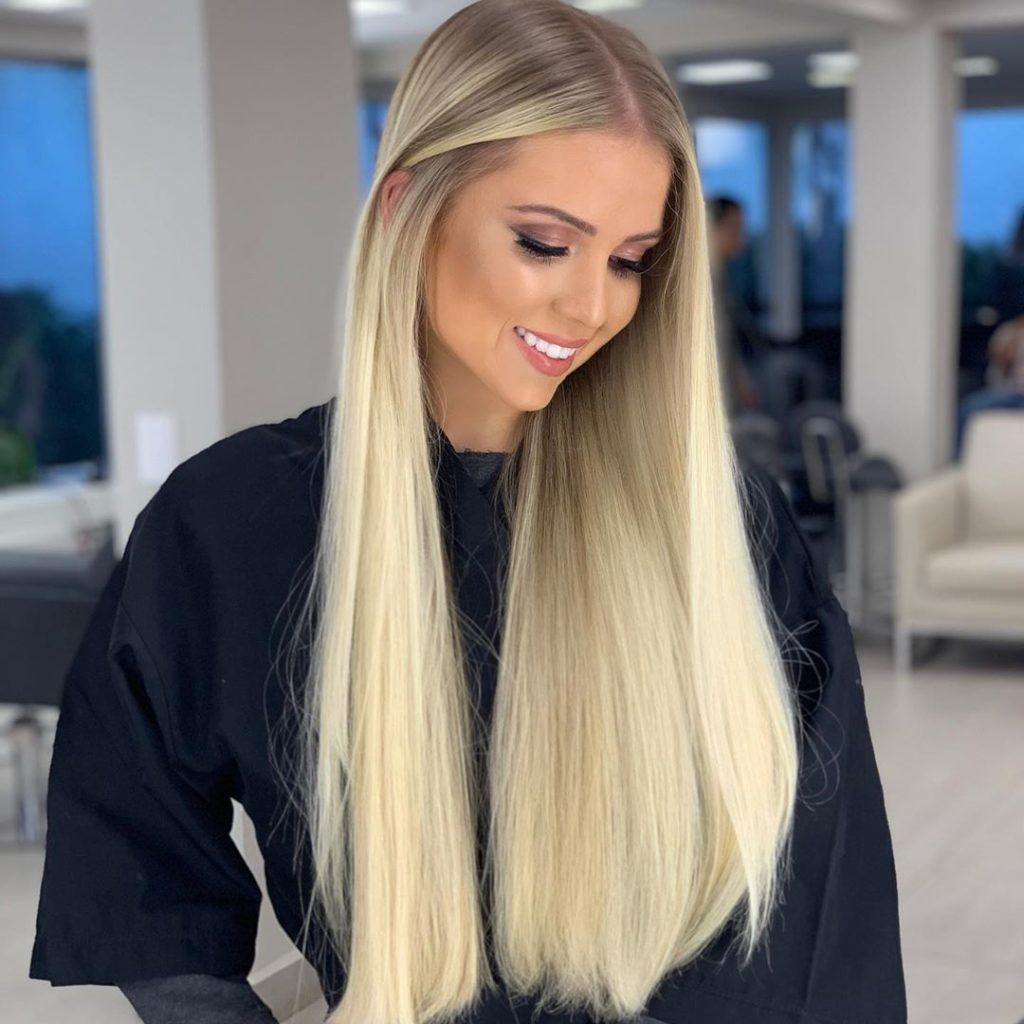 cabelo loiro comprido