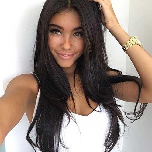 cabelo liso longo