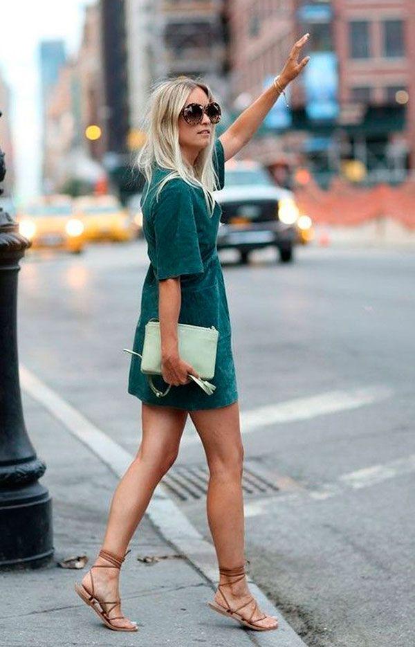vestidinho verde