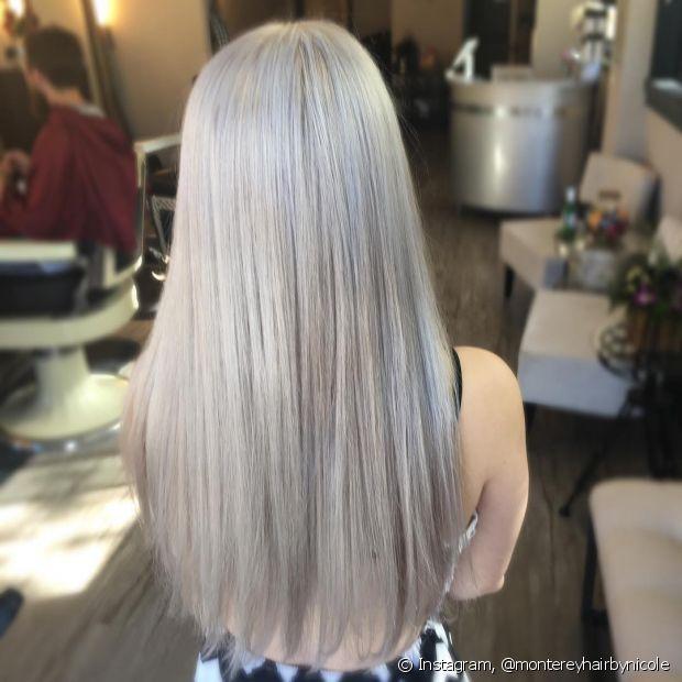 cabelos loiros perolado