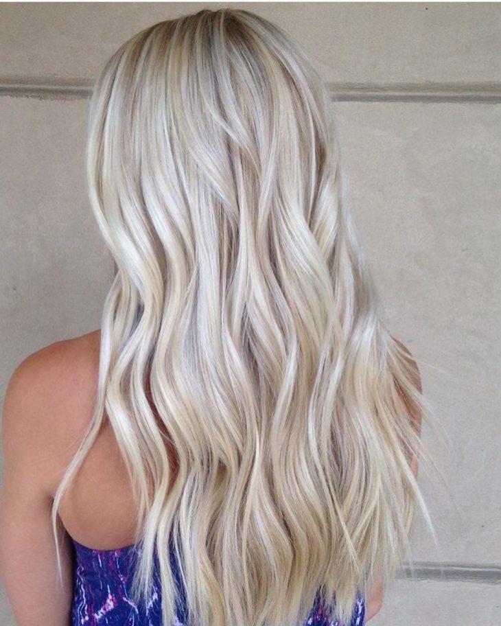 cabelos loiros longo