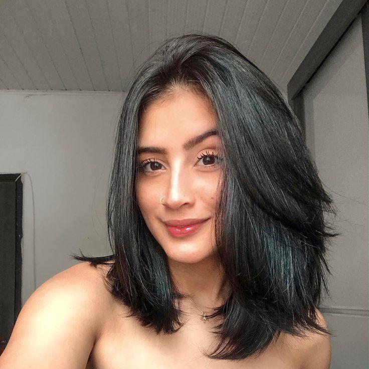 cores de cabelo preto 2.0 curto