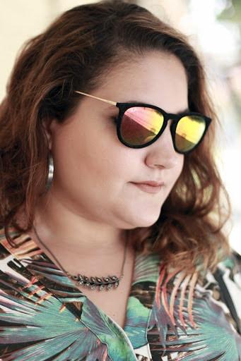 óculos de sol para rosto redondo lente espelhada