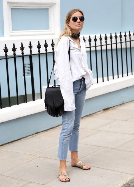 fotos de sapatos calça jeans